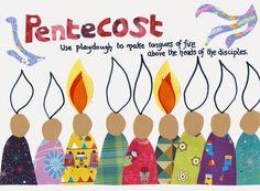 Pentecost Play Dough Mat