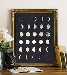 Love Quote Moon Phases 810 inches on (Black and White) Moon poster Moon print Moon chart galaxy wall art print. Diy Wall Art, Diy Art, Galaxy Bedroom, Deco Nature, Diy Décoration, Art Mural, Home And Deco, My New Room, Hipster Decor