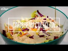 Why not spice up the side dish options at your next summertime BBQ with a delicious Caribbean coleslaw recipe that'll have guests begging for the recipe? Caribbean Coleslaw Recipe, Caribbean Recipes, Caribbean Party, New Recipes, Crockpot Recipes, Chicken Recipes, Salad Recipes, Best Dishes, Side Dishes