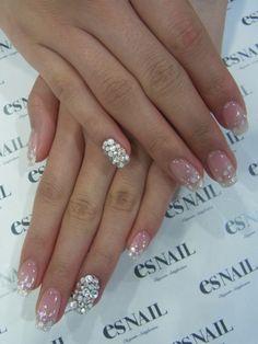 Twinkly nail polish