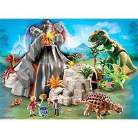 Playmobil Dinosaurs - Volcano with Tyrannosaurus
