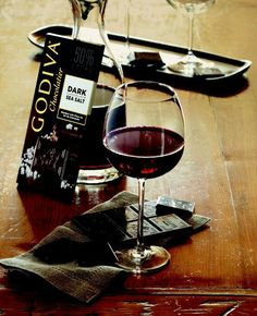 Wine & Chocolates - one of the best combinations
