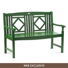Green Diamond Bench