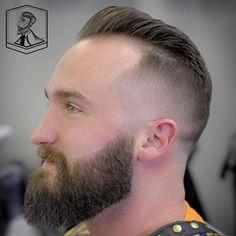 Mohawk Fade For Receding Hairline