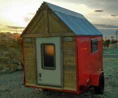 I would like you to meet Bob! He's our 40 sq. ft. Micro Camper.While I designed him to be light weight he is also very rugged and well insulated. This ...
