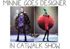 Minnie Gets A Designer Make Over