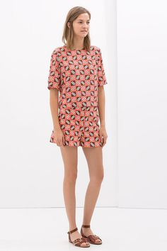 11 NEW Ways To Wear Shorts #refinery29  http://www.refinery29.com/shorts-outfits#slide6  Matchy-Matchy, Separate-SeparateAllover-print tops and bottoms make statments by themselves but are even more impactful together. We love this casual pair for everyday wear.