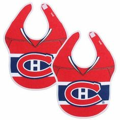 Montreal Canadiens First Time Fan Baby Bibs - Red Montreal Canadiens, Baby Must Haves, Spawn, Baby Bibs, Nhl, Graham, Athletic Tank Tops, Boys, Women