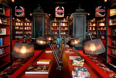 Somehow, this bookstore manages to be both whimsical and slightly macabre all at once. Cook & Book, Brussels, Belgium