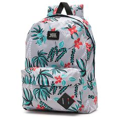 Old Skool II Backpack from Vans. Saved to I want. Shop more products from Vans on Wanelo. Pretty Backpacks, Cute Backpacks For School, Cute Mini Backpacks, Girl Backpacks, Vans Backpack Girls, Backpack For Teens, Backpack Purse, Jansport Backpack, Vans Rucksack