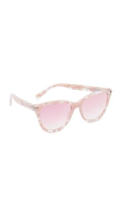 Pink Cat Eye Sunglasses by Marc Jacobs