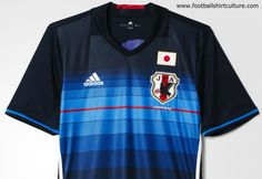 Japan 2016 Adidas Home Kit | 15/16 Kits | Football shirt blog