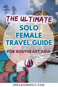 Solo Travel Southeast Asia: Traveling Southeast Asia alone as a female Traveling Southeast Asia alone? This detailed post should answer many questions to help you get ready for your Southeast Asia Solo Female Travel adventure Solo Travel Tips, Travel Advice, Travel Guides, Travel Info, Travel Goals, World Travel Guide, Travel Channel, Free Travel, Luang Prabang
