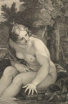 Diana at the Bath, by Louis Desplaces (via jaded-mandarin)