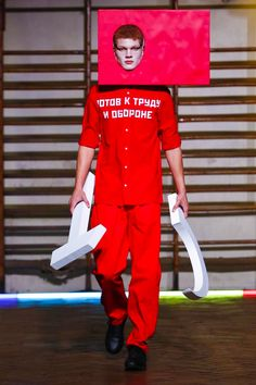 Gosha Rubchinskiy Menswear Spring Summer 2016 in Paris   sports   streetwear   Soviet