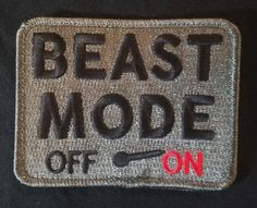BEAST-MODE-ON-ARMY-USA-MILITARY-TACTICAL-COMBAT-ACU-DARK-VELCRO-BRAND-PATCH