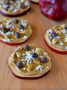 Apple Cookie Snacks