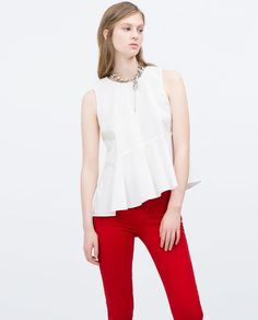 Image 2 of 2 POCKET SKINNY TROUSERS from Zara