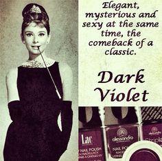 alessandro International Dark Violet