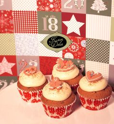GINGERBREAD CUPCAKES KAVA DOLCE