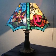 Stained Glass Suncatchers, Glass Art, Table Lamp, Clock, Tiffany, Mosaic, Home Decor, Handbags, Halloween
