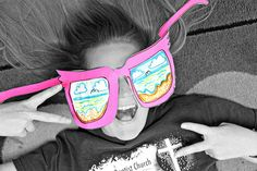 smART Class: Happy Memorial Day! and Summer Shades Last week of School Project (updated)