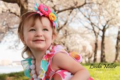 Linda Miller Photography www.lindamillerphotography.com  Kids session, DC cherry blossoms, natural lighting, what to wear, pose ideas, styled session, potomac river, Fort McNair