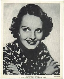 Rochelle Hudson ~ An American film actress from the 1930s through the 1960s. She may be best remembered today for costarring in Wild Boys of the Road (1933), playing Cosette in Les Misérables (1935), playing Mary Blair, the older sister of Shirley Temple's character in Curly Top, and for playing Natalie Wood's mother in Rebel Without a Cause (1955). She played Claudette Colbert's adult daughter in Imitation of Life (1934).