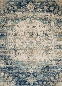 Ornate traditionals distressed and full of character are modernized by illuminating color-ways in the Anastasia collection. Power loomed in Egypt of polypropylene and polyester, Anastasia not only is