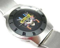 #GunsNRoses Logo Watch Available Via AMAZON:  http://amzn.to/1LH7tMR  #Gunsnroses #gunners #gnr #80srock #rock