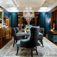 Tips for sizing a chandelier: As a basic rule, the diameter of your chandelier  should measure about half the width of your dining table. Mount the fixture  about 30 inches above the table height and always install this fixture on a dimmer for flexibility in creating various moods.  http://www.aflighting.com/candice_olson/Default.aspx