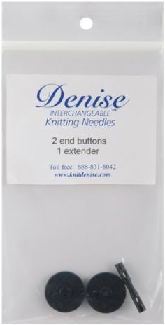 Denise Needles Interchangeable Knit Crochet Buttons and Extender Kit * Click image to review more details.(It is Amazon affiliate link) #home