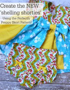 The Scientific Seamstress: Shelling Shorties Tutorial!