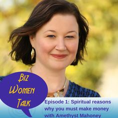 Happy thoughts don't buy eggs and milk and other spiritual reasons why you must make money with your business  Learn how by listenting to this episode of Biz Women Talk #AmethystMahoney #BizWomenTalk #MakingBigMoney #BuildaKickassBiz Listen, leave a review and get a chance to win a $100 Visa Gift card or other prizes http://apple.co/1J2Iy5l http://apple.co/1J2Iy5l
