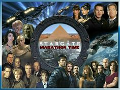 It's always a good time for a Stargate marathon! ❤ 15 seasons combined