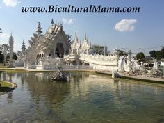 The White Temple in Chiang Mai in Laos