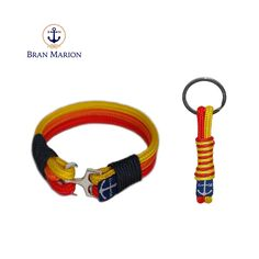 Bran Marion Rainbow Nautical Bracelet and Keychain sold by Bran Marion. Shop more products from Bran Marion on Storenvy, the home of independent small businesses all over the world. Nautical Bracelet, Nautical Jewelry, Unique Jewelry, Marine Rope, Everyday Look, Handmade Bracelets, Jewelry Collection, Take That, Rainbow