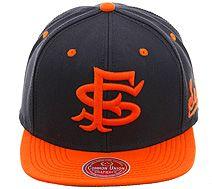 SF Seals Navy/Orange Snapback Hat by Common Union