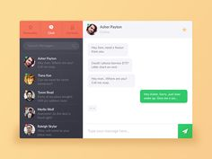 Day 06 - Chat UI designed by Athul Athreya. Fluent Design, Contacts Online, Web Design, Ui Design Inspiration, Design Ideas, Hey Man, User Interface Design, App Ui, Mobile Design