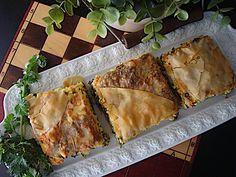 Turopita-me-xorta-aromatika-1 Spanakopita, Cooking, Ethnic Recipes, Food, Kitchen, Essen, Meals, Yemek, Brewing