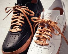 Leather laces, sure why not!