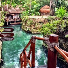 Río Maya, Xcaret hidden treasure. #PlayaDelCarmen