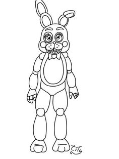 Five Nights At toy bonnie by titygore on DeviantArt Minion Coloring Pages, New Year Coloring Pages, Super Coloring Pages, Monster Coloring Pages, Coloring Sheets For Kids, Animal Coloring Pages, Coloring Pages To Print, Printable Coloring Pages, Coloring Books