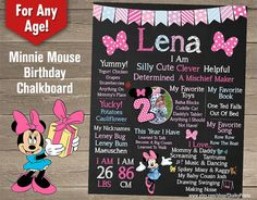 Hey, I found this really awesome Etsy listing at https://www.etsy.com/listing/210539884/minnie-mouse-chalkboard-poster-minnie
