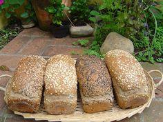 come-se: Receita de pão