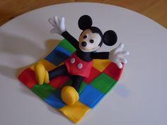 Mickey Mouse fondant figure