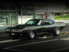 '71 'Cuda black...Re-pin brought to you by agents at #HouseofInsurance #Eugene, Oregon for #carinsurance.