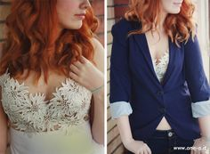The wedding series: wedding inspired summer top tutorial