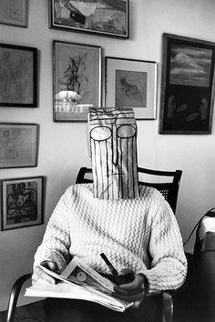 Máscara de Saul Steinberg (1958)