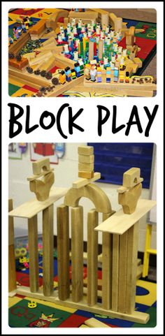 Block area on pinterest block play building and wooden for Center block house